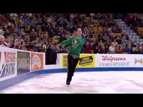 awesome ice skating dance by jason brown 2014 championship