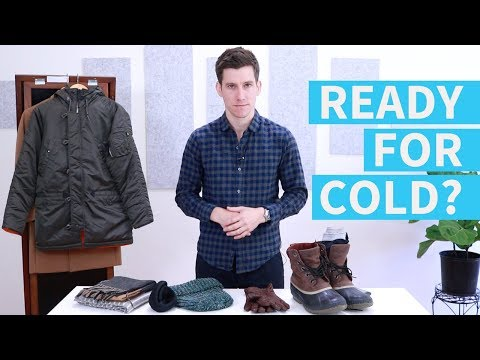 7 Winter Wardrobe Essentials for Men | Men's Winter Fashion Tips