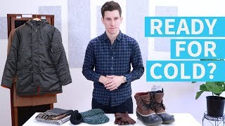 7 Winter Wardrobe Essentials for Men | Men