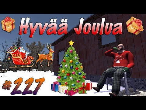 My Winter Car #227   Jaetaan Lahjoja   Hyvää Joulua!