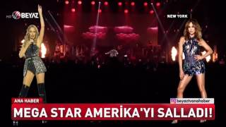 Megastar Tarkan Amerika'yı Salladı! Dünyaca ünlü Yıldızlarla Aynı Sahnede!   Beyaz Ana Haber