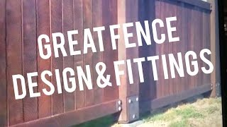 Wood Fence Designs Styles Installation Ideas Custom Post Bases Saddles