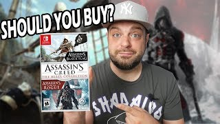 Is Assassin's Creed Rebel Collection For Switch A MUST BUY?