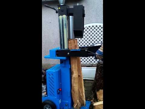 Holzspalter Benzin 11 T Güde DHH 1330 / 11T  Meterrollen Spalten Mit Spaltkeilverlängerung