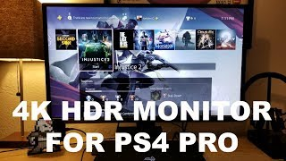 The Best Monitor for the PS4 PRO.? BenQ EW3270U