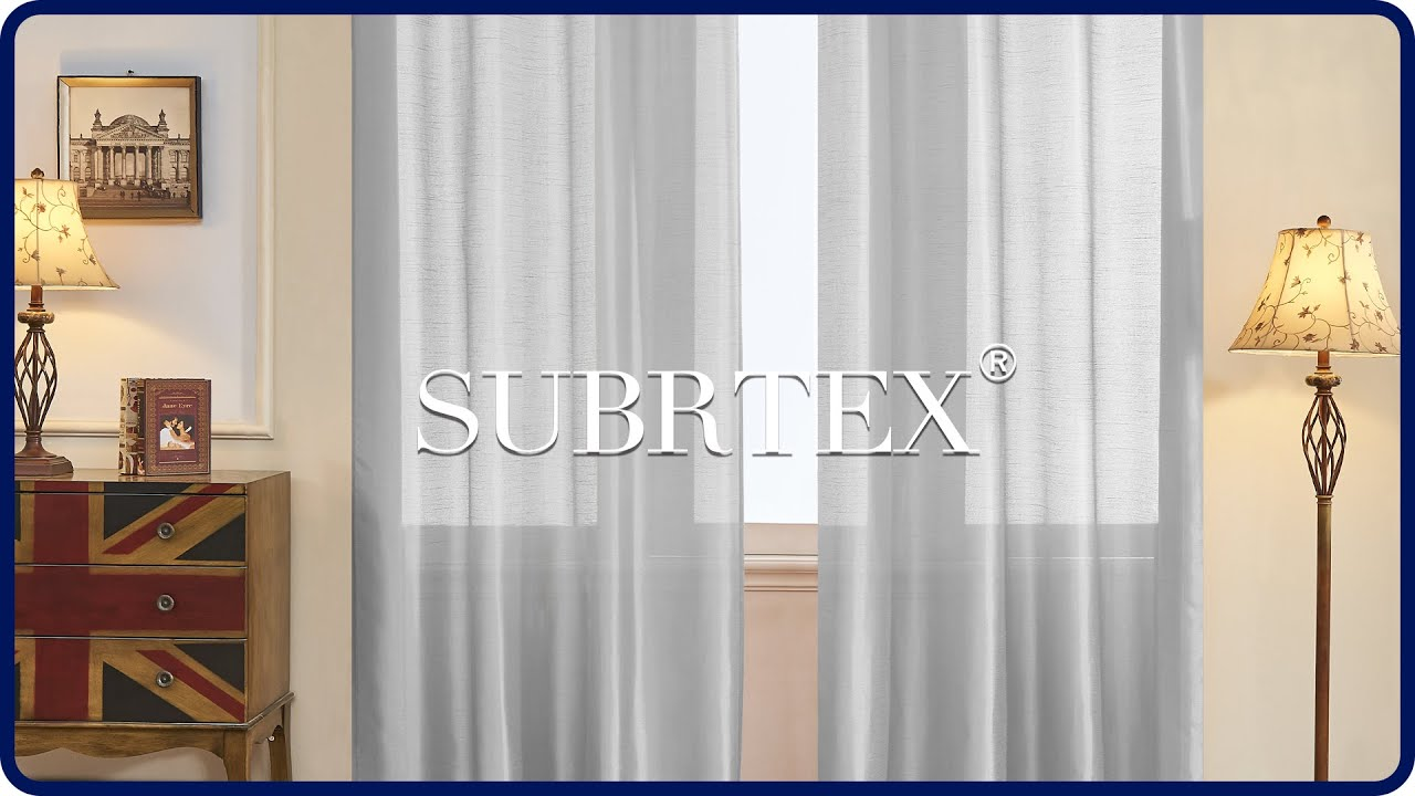 Faux Silk Curtains Subrtex Faux Silk Curtains For Window In 2 Panels