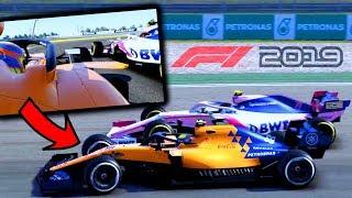 F1 2019 di CATTIVERIA! Unico con GOMME DIVERSE!