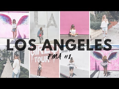 FMA Los Angeles #1 | WeHo TIPPS: FOOD, SHOPPING, INSTA WÄNDE