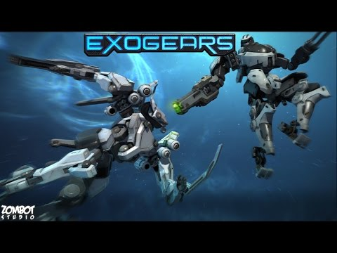 Official ExoGears (by Zombot Studio Inc.) Teaser Trailer (iOS / Android)