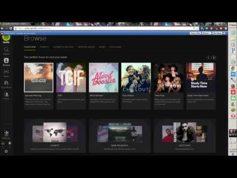 Spotify Web Player no ads 2015