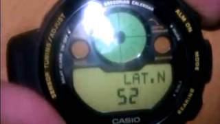 настройка часов CASIO Islamic Prayer Compass для хасавюрта