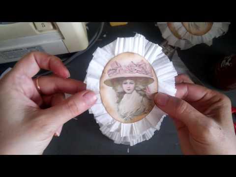 How to make paper medallions rosette