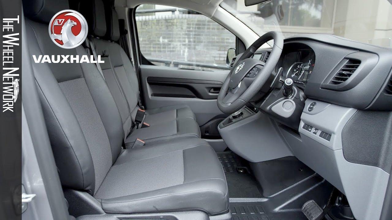 2019 Vauxhall Vivaro Panel Van Interior Youtube