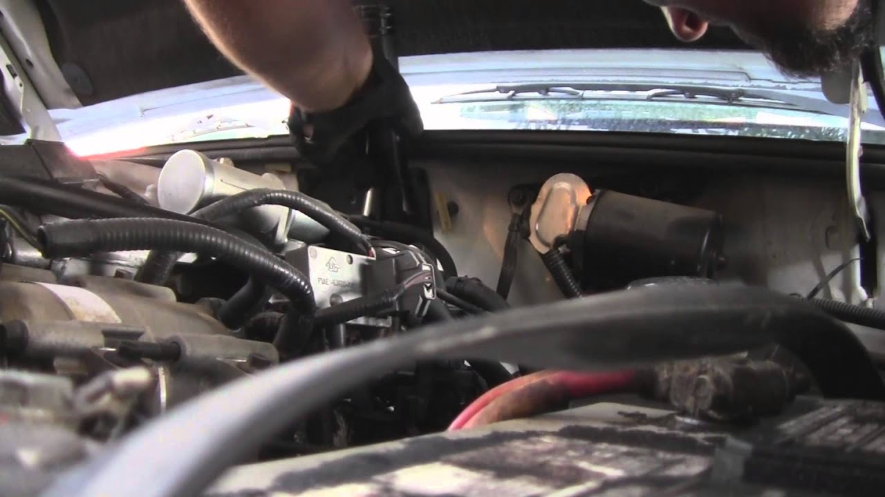 Ford Ranger 4 0 Ohv Oxygen Sensor Replacement Youtube