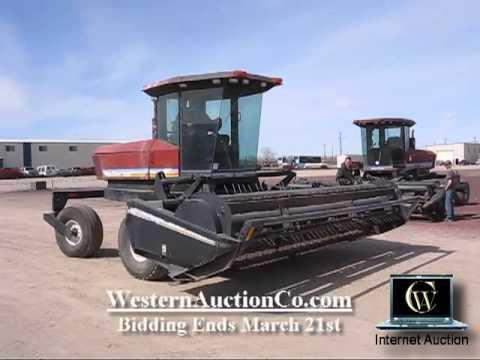 MacDon 9200 Windrower | Idaho MacDon Auctions