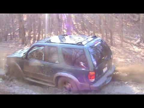 Stock Ford Explorer Vs Deep Mud