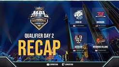 Recap MPL Invitational Qualifier Day 2 Highlights | 20 June 2020 | Top Plays ESPORTSTV
