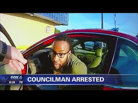Police bodycam video released of city councilman's arrest