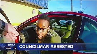 Police bodycam video released of city councilman