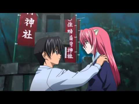 Elfen Lied - I don't deserve to be with you! ~ Lucy Japanese fandub