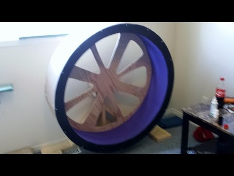 Thumbnail for Cat Video DIY Cat exercise wheel/ Cat wheel on a budget