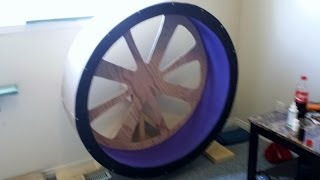 DIY Cat exercise wheel/ Cat wheel on a budget