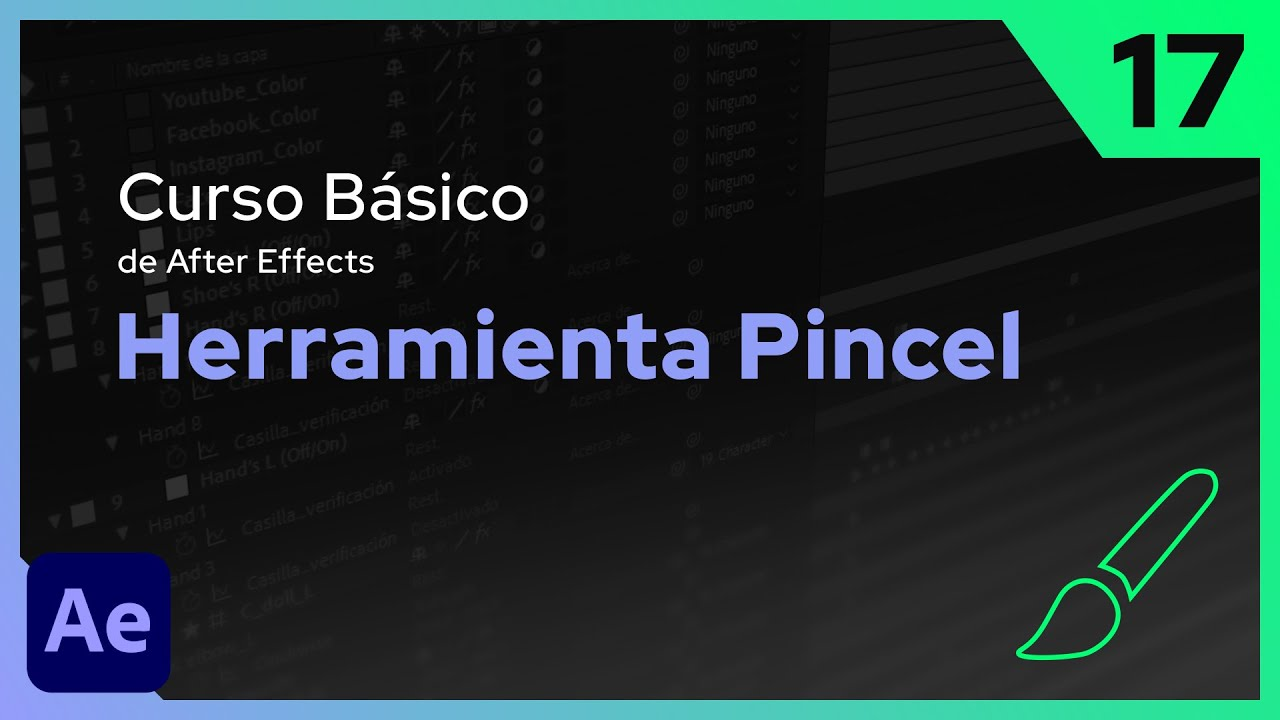 Herramienta Pincel | After Effects - Tutorial