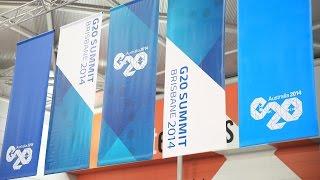 Brisbane G20 Media Zone