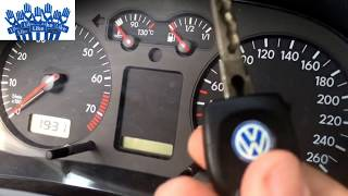 VW Golf 4 Serviceanzeige Löschen - Golf 4 Service Ausschalten - Resetare Service Golf 4