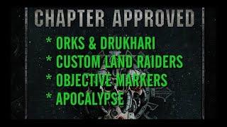 Chapter Approved Breakdown (Orks & Drukhari)