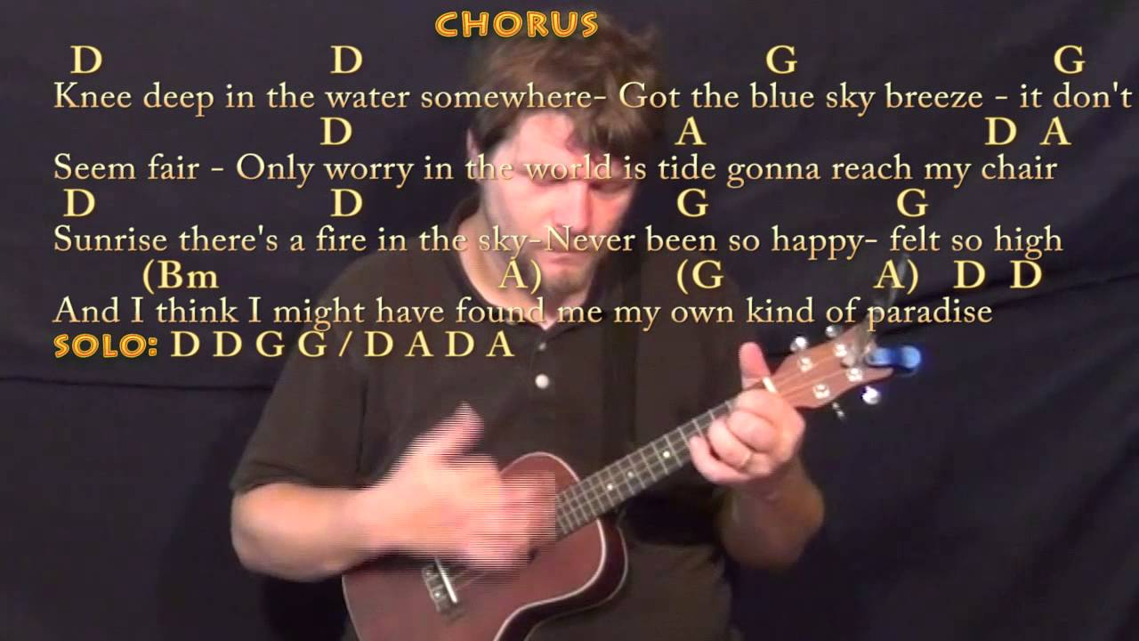 Knee Deep Zac Brown Ukulele Cover Lesson In D With Chordslyrics