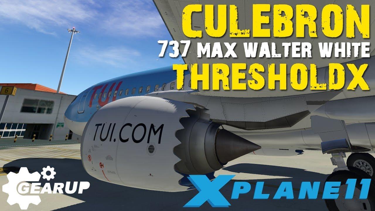 X-PLANE 11 BOEING 737 MAX | EL CULEBRÓN | ¿ROBO? | en