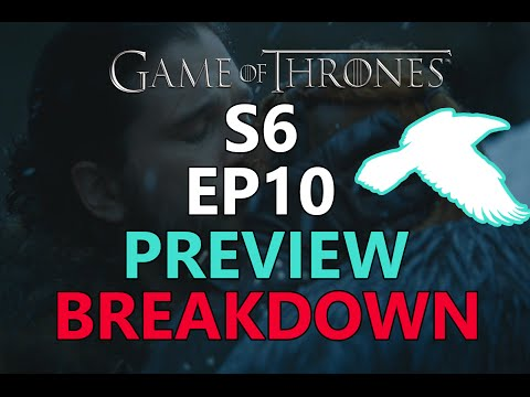 Game Of Thrones Season 6 Episode 10 Trailer Breakdown / Predictions