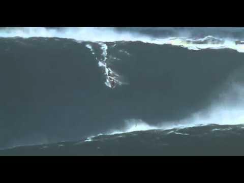 Garrett McNamara's rogue wave off Portugal! Is this the biggest wave ever ridden?