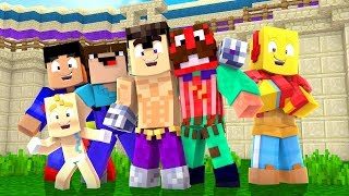 MINECRAFT CON NOOBS - COLISEO DE NOOBS #51
