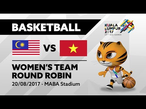 KL2017 Women's Basketball - MAS 🇲🇾 vs VIE 🇻🇳 | 20/08/2017