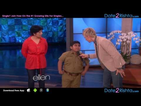 Akshat Singh's Dance Performance on Ellen...