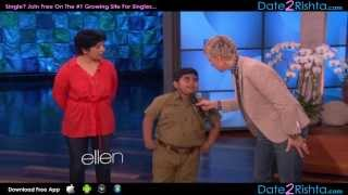 Akshat Singh's Dance Performance on Ellen - India Got Talent!!