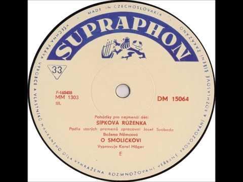 Karel Höger - Šípková Růženka 1966 Vinyl Records 33 1/3rpm