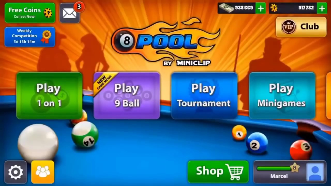 8 pool ball free coins and cash