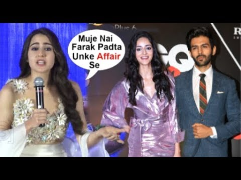 Sara Ali Khan's JEALOUS Reaction On Kartik Aaryan DATING Ananya Panday Mp3