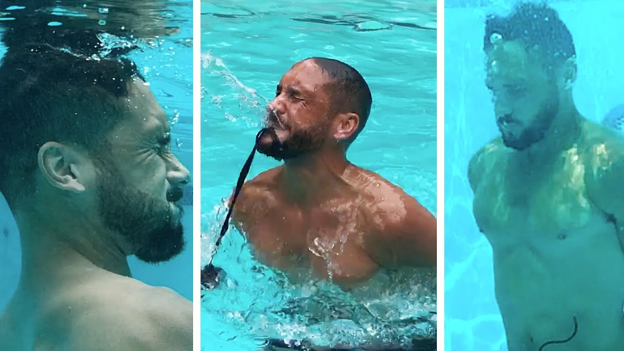 I Tried The Navy Seal Water Challenge Youtube