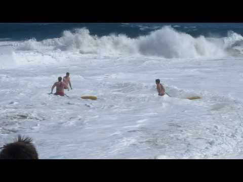Lifeguard Rescue At The Wedge In Newport
