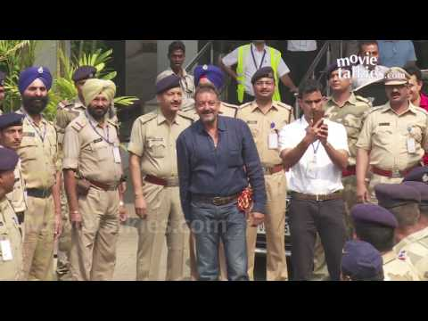 Sanjay Dutt In Mumbai After Finally Coming...