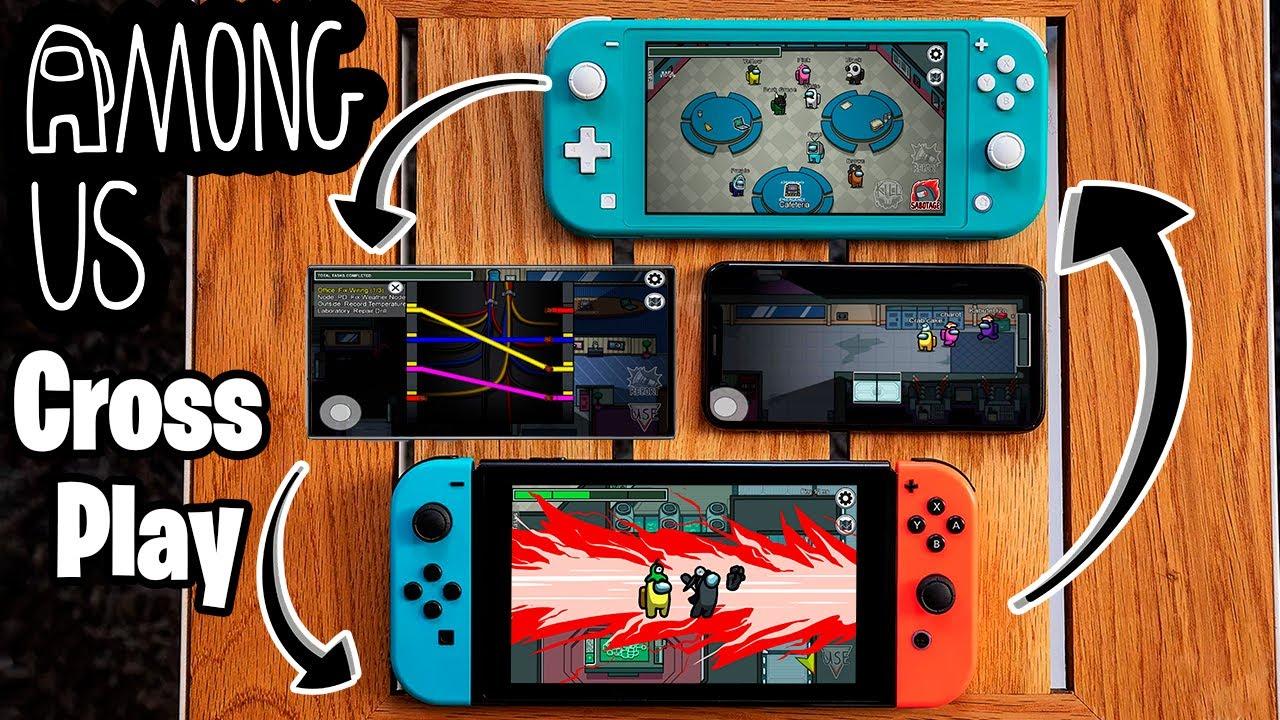 Among Us Local Vs Online Crossplay On Nintendo Switch Lite Youtube