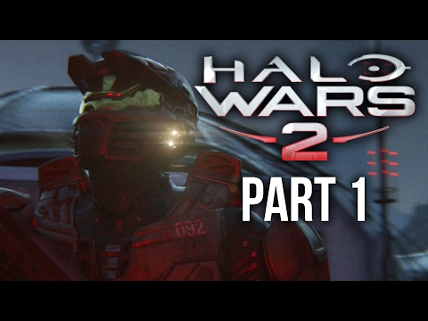 HALO WARS 2 Walkthrough Part 1 - ACT 1 & 2 (Xbox One Gameplay Let's Play)