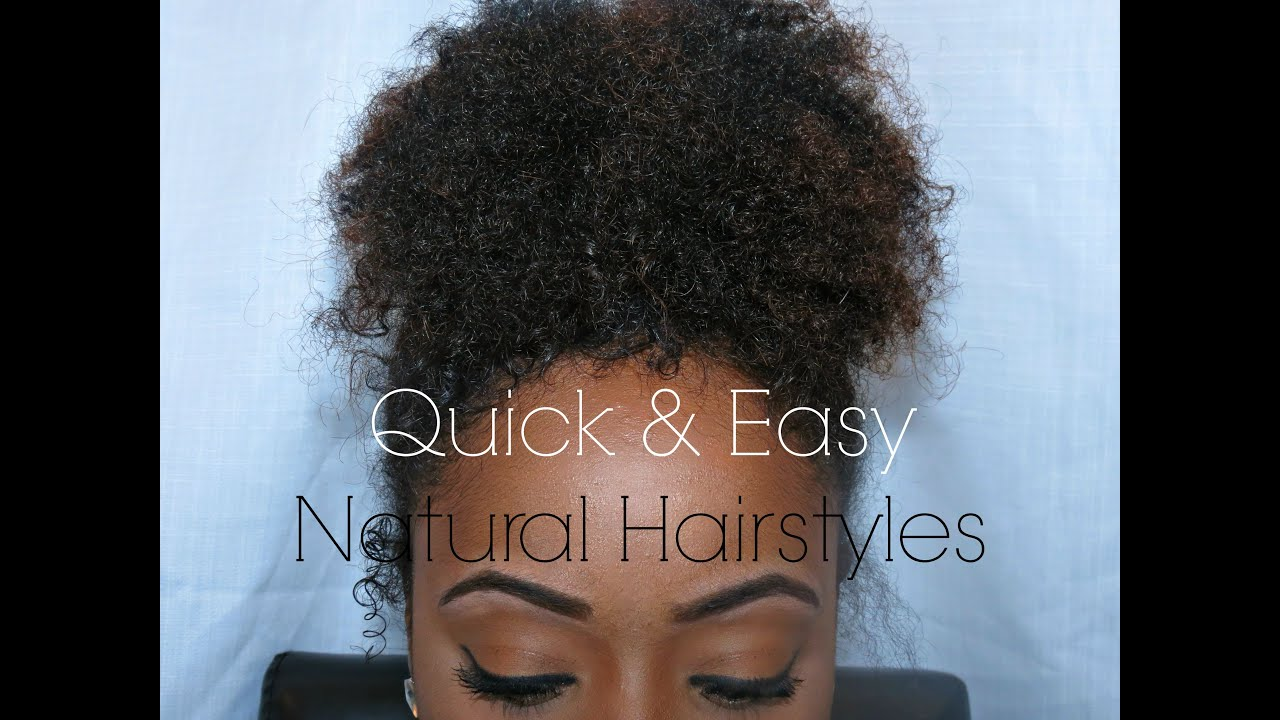 How To Quick Amp Easy Everyday Protective Hairstyles For