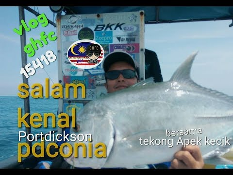 Vlog ghfc 15418 light jigging slow jigging salam kenal PDconia LAWAN. PortDickson