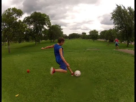 Soccer, Golf together? Try Footgolf