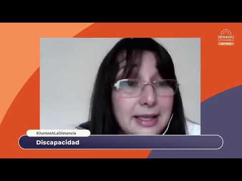 #JuntosAlaDistancia: Discapacidad